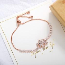 Гривна Слонче розе голд