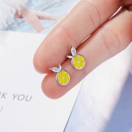 Обеци Лимони