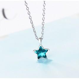 Колие Звезда блу