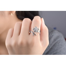 Пръстен Флорина кристал