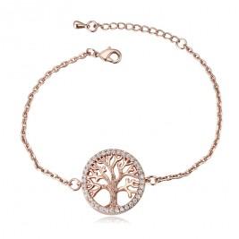 Гривна Дървото на живота розе голд