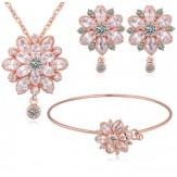 Комплект Елза лукс розе голд