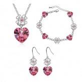 Комплект Нежност розе