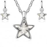 Комплект Звезди кристал