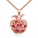 Колие Златна ябълка розе